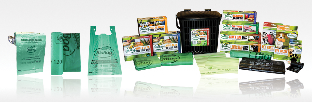 BioBag Compostable Product Lineup